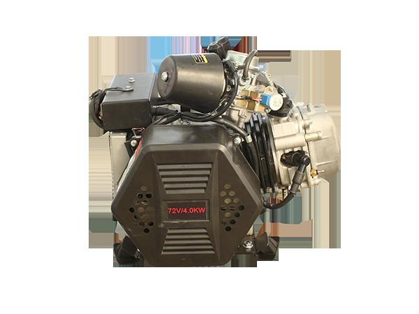 YH4000卧式水冷车载增程器